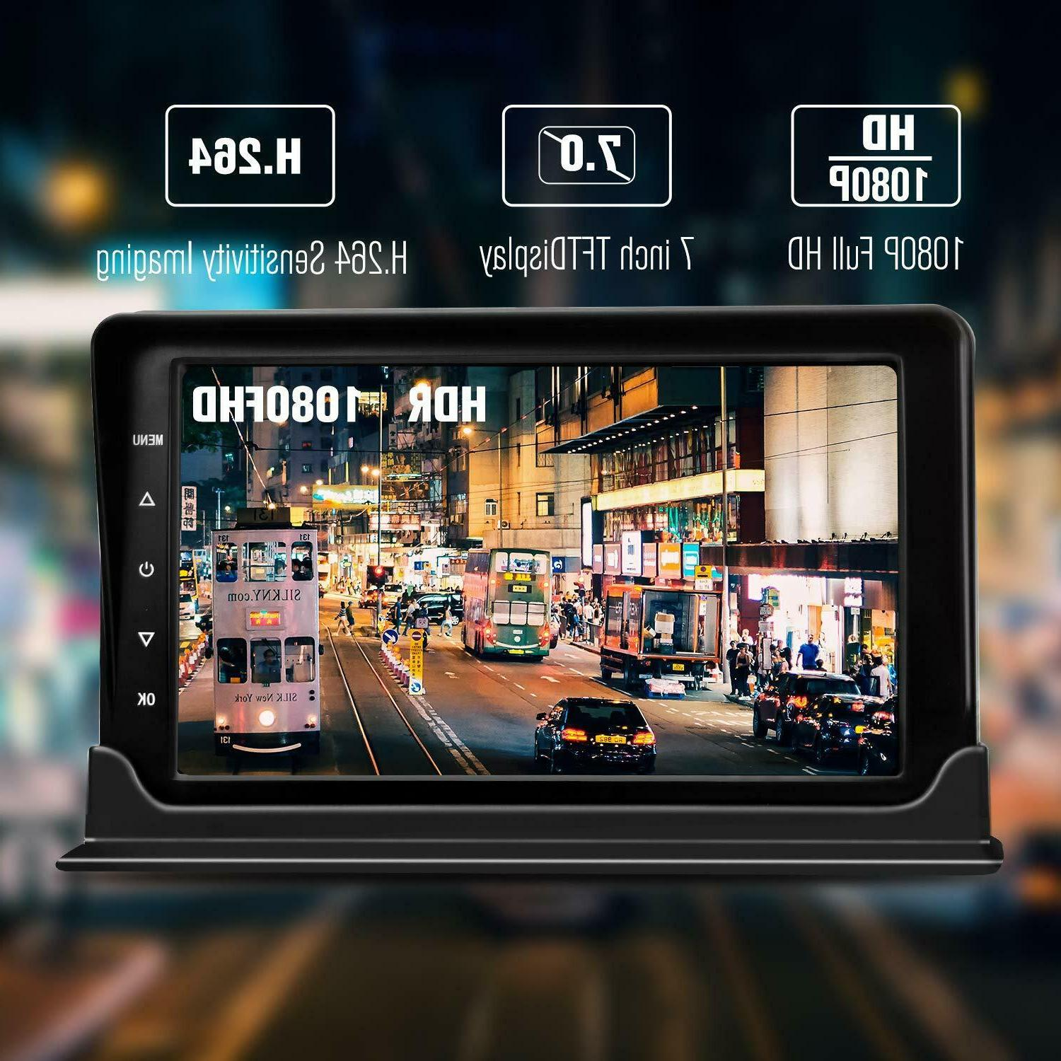 """AHD Dash Camera System 7"""" For"""