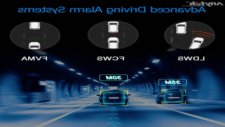 150° Dash Cam DVR Camera ADAS G-sensor