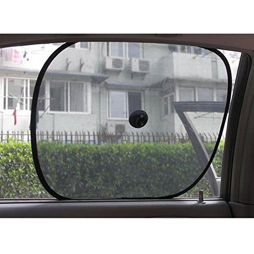 "2 Auto Sun Shade Sunshade for Visor UV 14"" 17"" Skin Heat"
