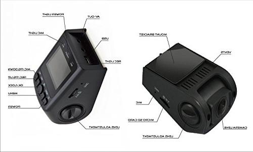 Black Box GPS Stealth Dash Cam - A118 Full HD Car Super Angle Resistant - WDR Night Detection
