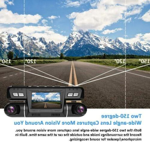 Pruveeo with WiFi, Dual Front and Camera for Cars...