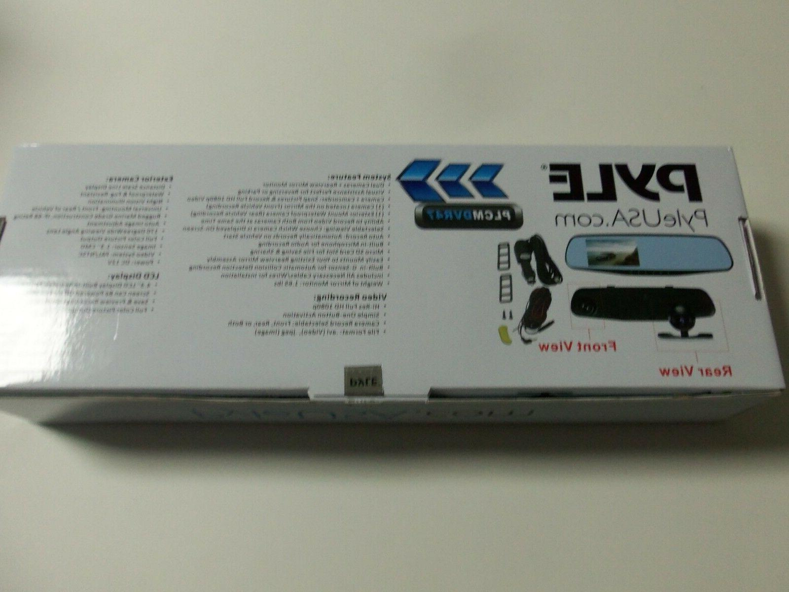 Pyle Car DVR Front Rear View - 4.3 Monitor. !!!