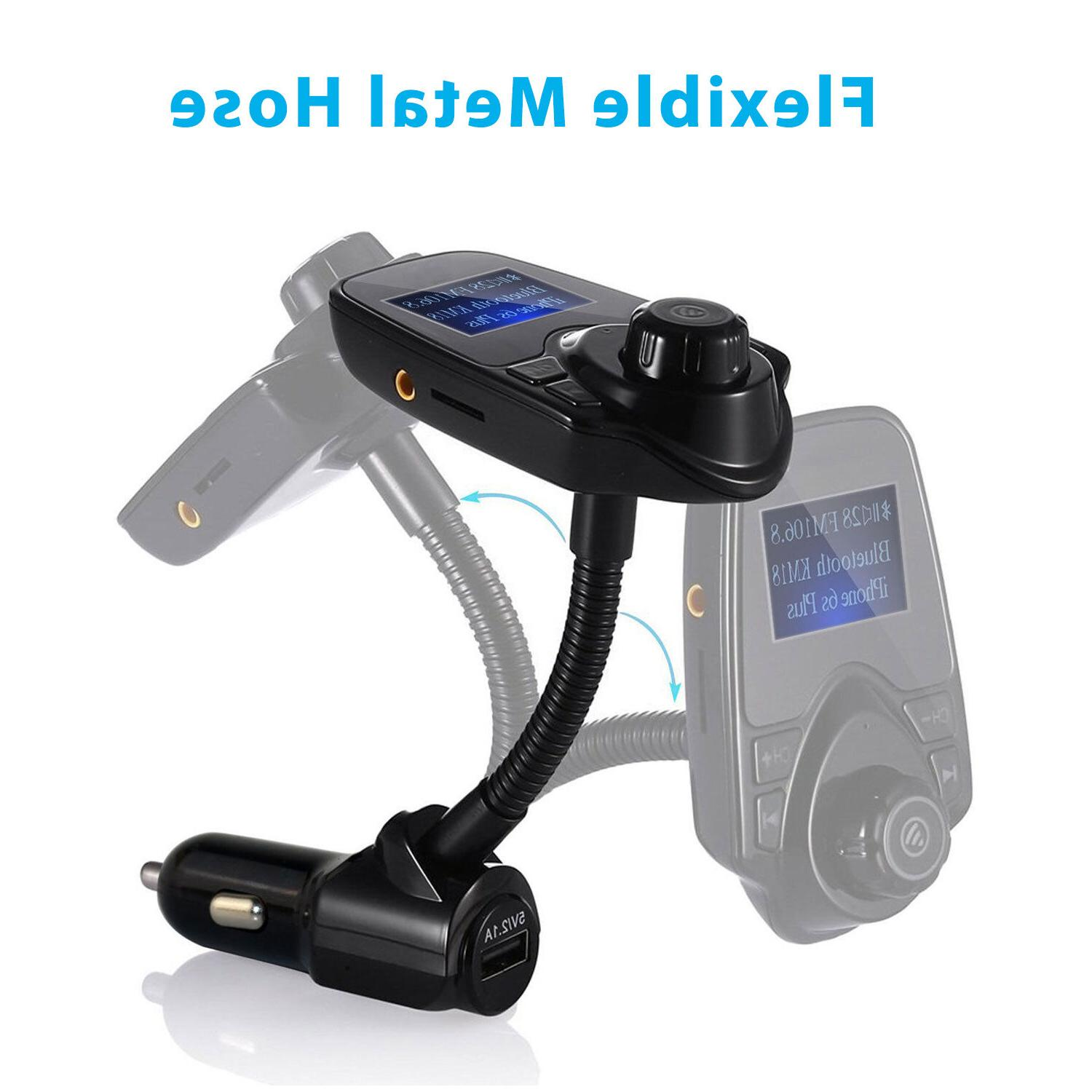 Bluetooth Kit MP3 Player FM Transmitter Wireless Radio Adapter Charger