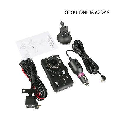 """4"""" Dual Touch Dash Cam and Rear Camera"""