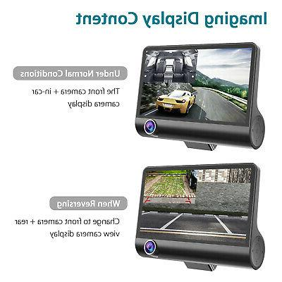 "4"" 3 Car Dash G-sensor Recorder +"
