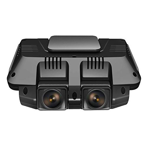 Pruveeo C2 Cam 1920x1080P Front Rear Dashboard with Sony Sensor, WDR Wide Viewing Angle Car Loop