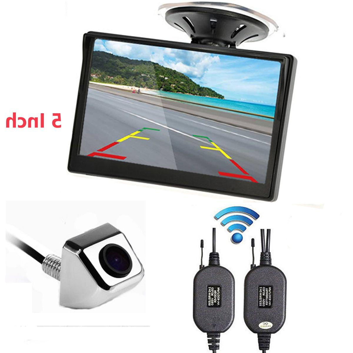 car auto 5 inch monitor suction cup