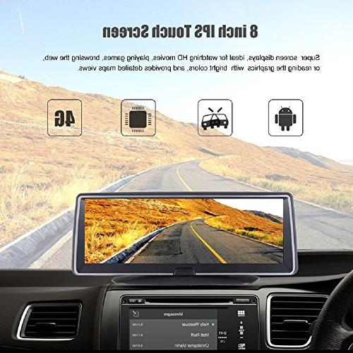 ANSTAR cam Android Touch Screen Rear DVR Lens WiFi