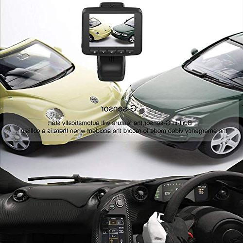 Car 1080P WiFi Driving Recorder with Parking Vehicle DVR Black