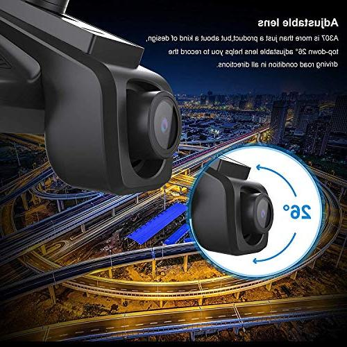 Car Cam, 1080P WiFi with Parking Monitor Vehicle DVR