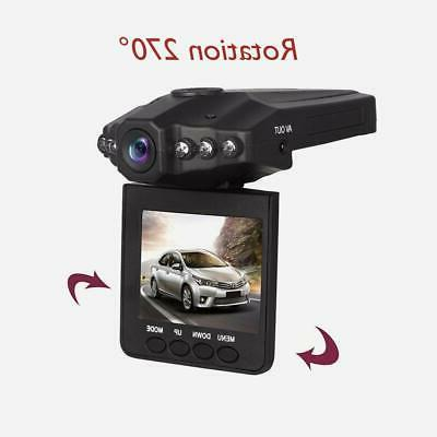 Car Dash Cam LCD FHD 1080p Wide Angle with Display Dashboard