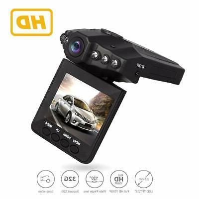 Car Dash Cam LCD FHD 1080p Wide Angle Dashboard Vehicle Came