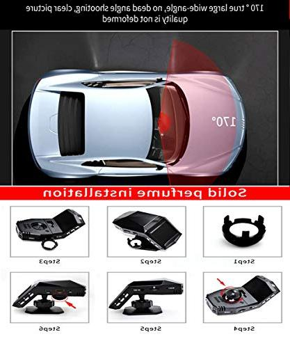 Denicer Car Full Wide Recorder,Parking Monitor,G-sensor,WDR,Infrared Night Vision,Contains Recorder