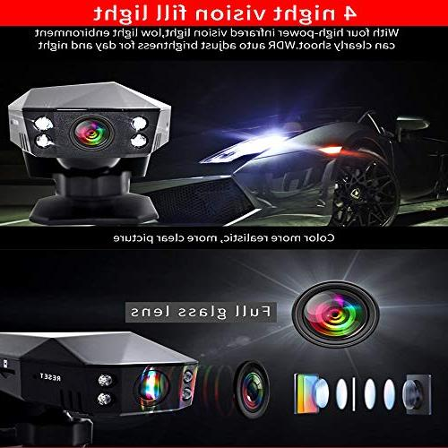 Denicer Cam Full Wide Dashboard,M100S Recorder,Parking 32G SD card,Perfume
