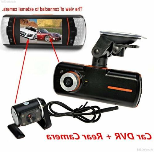 "2.7"" Car Dash Vehicle Front and Rear Lens Recorder"