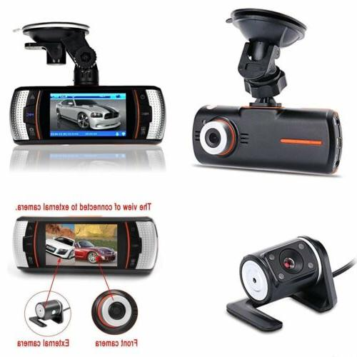 "2.7"" HD 1080P Car Dash Camera DVR Vehicle Front and Rear Dua"