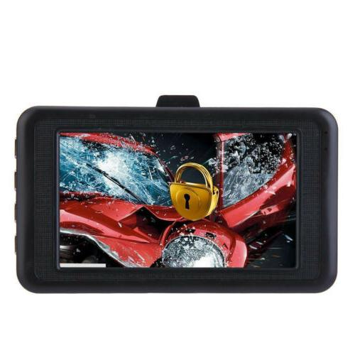 Car DVR Recorder Night Vision Sensor Camera 1080P HD Dash Cam