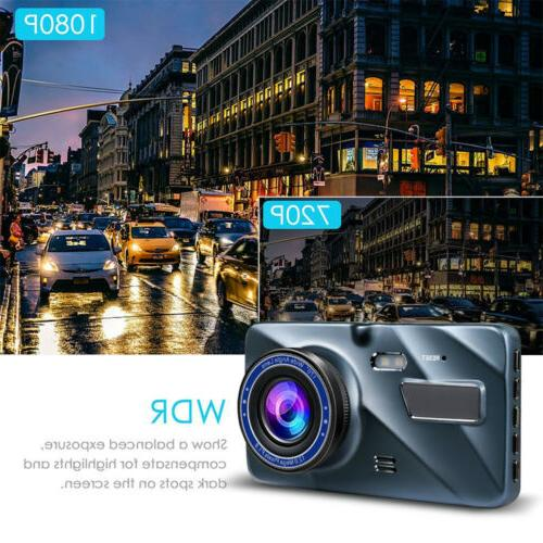 For Car Vehicle Dash Camera HD Front Dashboard Camcorder