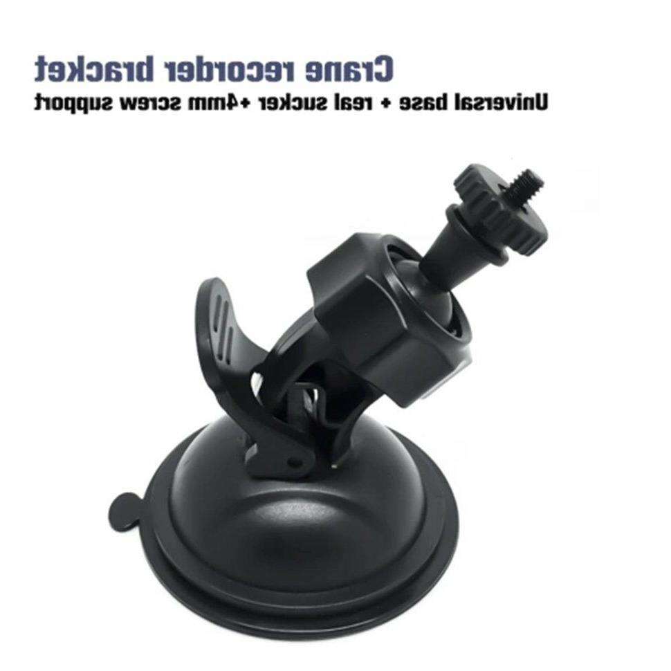 car video recorder suction cup mount bracket