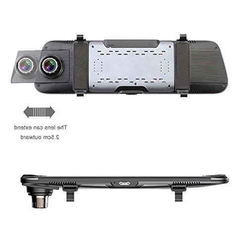 Dash Full HD1920x1080P Rearview Camera 10''IPS Vision Goggles Language Camera