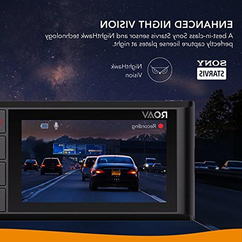 Roav by Cam C2 FHD 1080p, Sony Sensor, 4-Lane GPS Wi-Fi, Dedicated App, Loop and 32GB