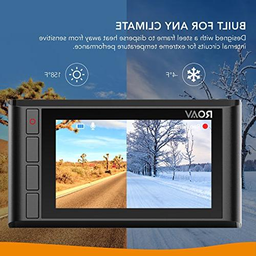 Roav by Cam Pro FHD 1080p, Sony Sensor, Wide-Angle Dedicated App, Loop Recording, Night and 32GB microSD