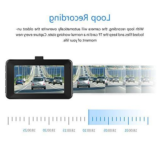 Dash Crosstour Car Full LCD WDR, and Motion Detection
