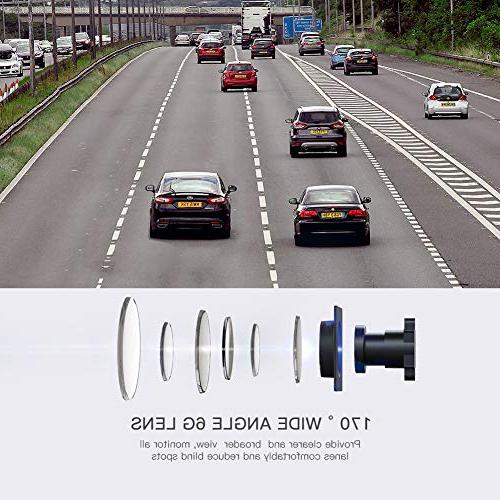 APEMAN Cam, Screen Car Driving Recorder with 170 Degree Wide Detection