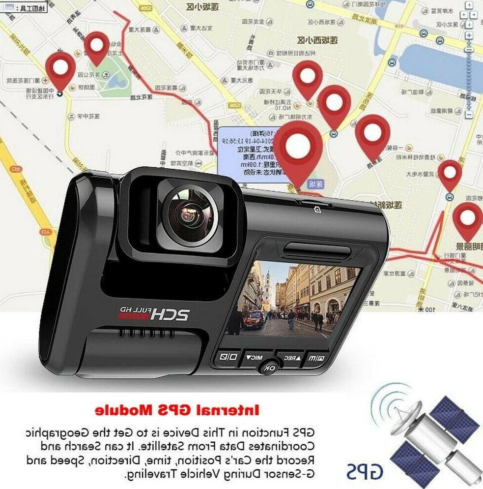 BCI Dash Front and Rear Full HD - 1080P, Wi-Fi & GPS Built-In