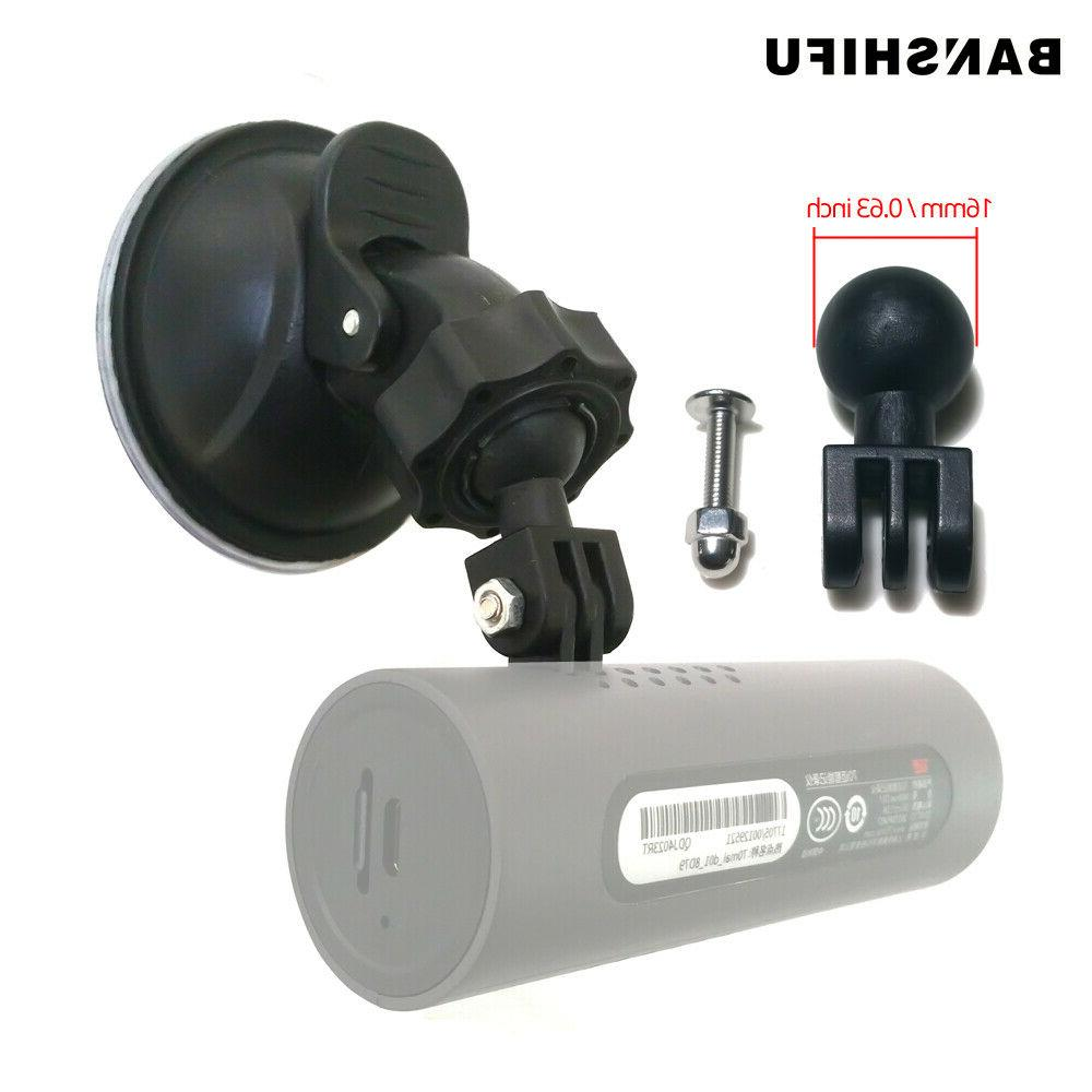dash cam mirror mount suction cup holder