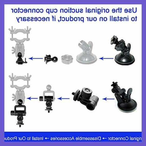 Dash Cam Mount Car Holder W Types Fits Rexing