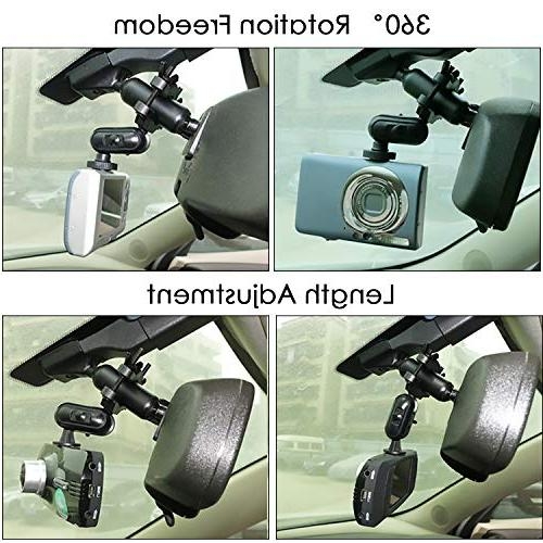 Anumit Dash Cam Universal Car Rear View Mirror 16 Z-Edge, X1, and Other Cameras/GPS