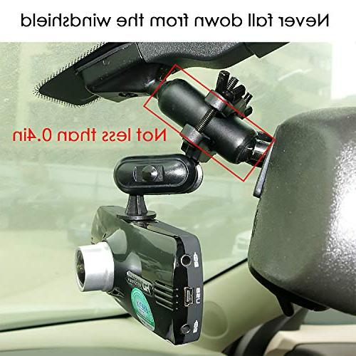 Anumit Cam Universal Car Mirror Holder with 16 Fits Z-Edge, Old KDLINKS X1, Zero F170HD and Dash Cameras/GPS