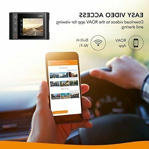 Image WiFi Car DVR 1080p Night