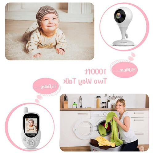 Baby Monitor Campark Wireless Video Digital Night Vision Talk