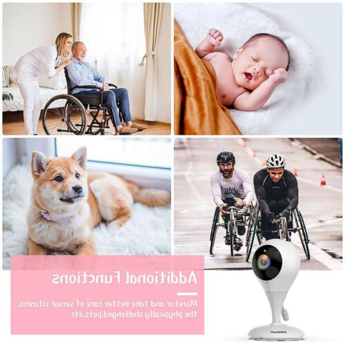 Baby Monitor Campark Wireless Video Digital Vision 2Way Talk Sensor