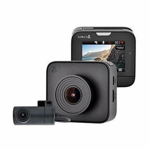 Cobra Drive Hd Dash Cam Dash2216D Feat.1080P Full Hd Front C
