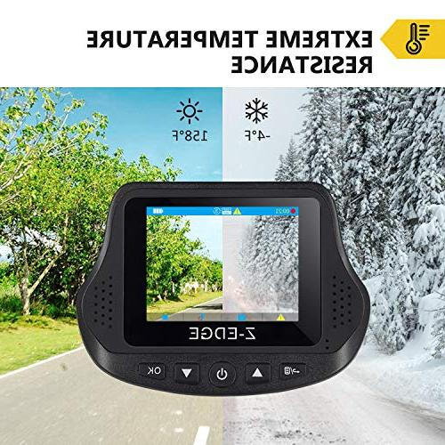 Dual Dash Cam, S3 HD Front 1080P Rear 150 Wide Dual Front G-Sensor, WDR, Included