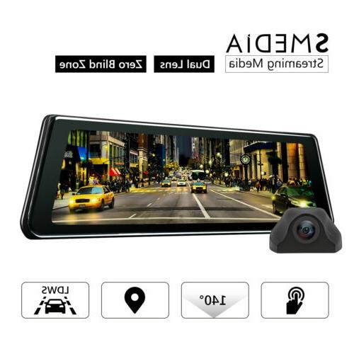 dual lens 9 88 hd touch vehicle