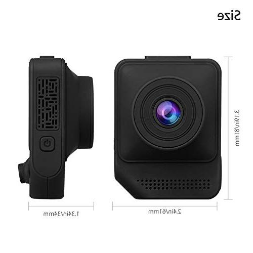 EEEKit Dash Cam Dashboard Vehicle Driving with G-Sensor Parking WDR Recording Vision