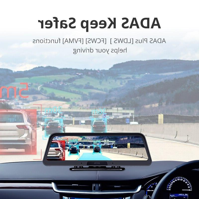 <font><b>ANSTAR</b></font> 4G Android Dashboard WiFi GPS ADAS Car DVR Registrar Camera