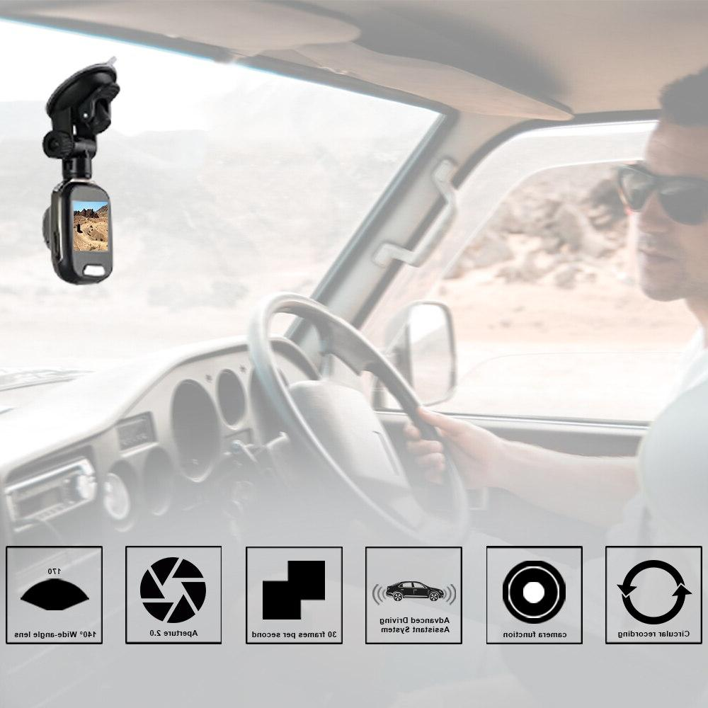 <font><b>ANSTAR</b></font> <font><b>Cam</b></font> 1080P HD Camera Car DVR Vision Loop Recording DVR Parking Monitoring <font><b>Dash</b></font> Camera