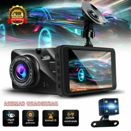 g sensor car camera dual dash cam
