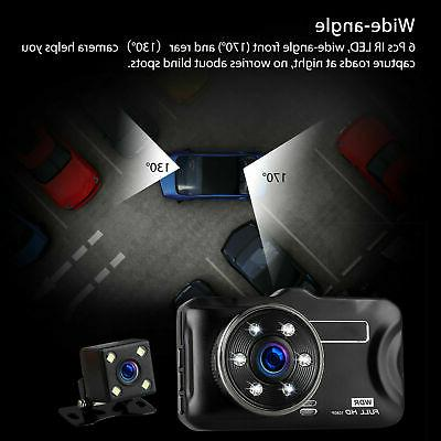 Cam Car Rear Camera Night Vision G-sensor Angle
