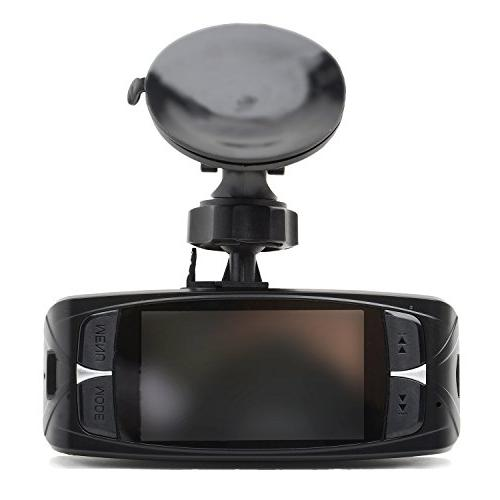 "Black Dash 160° Wide Angle ZOOM - 1080P 2.7"" LCD - Night Vision Motion Detection G-Sensor +"