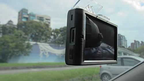 """PAPAGO 366 Cam 1080P Car Driving Recorder, Front and Camera 3.5"""" Touch 16GB GS36616G"""