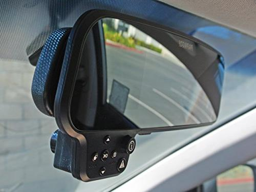 "Full HD 1080P Mirror Mount Dashcam with 2.7"" Display"