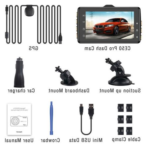 TOGUARD Mirror Cam Dual Full Touch Streaming