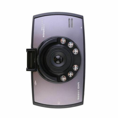 HD 1080P DVR Vehicle Camera Recorder Dash Night 2.7 inch