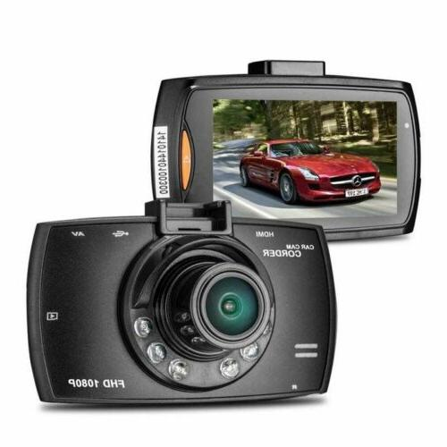 HD Dash-Cam Camera Front InCab Recorder DVR GPS Logger Gift